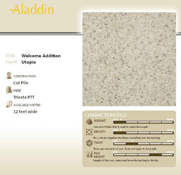 Welcome Addition By Mohawk Aladdin Carpet